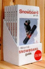 Cover of: The Snowboard Magazine for Europe | Tony Brown