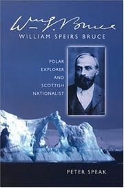 Cover of: William Speirs Bruce | Peter Speak