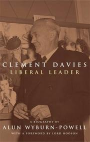 Cover of: Clement Davies by Alun Wyburn-Powell