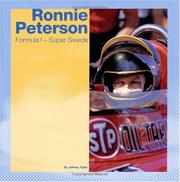 Cover of: Ronnie Peterson | Johnny Tipler