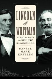 Cover of: Lincoln and Whitman by Daniel Mark Epstein
