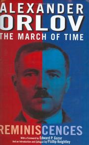 Cover of: The March of Time by Aleksandr Orlov