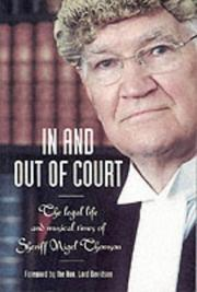 Cover of: In and out of court by Nigel Thomson