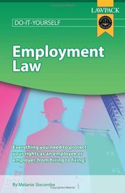 Cover of: Employment Law Guide (Lawpack Do It Yourself) | Melanie Slocombe