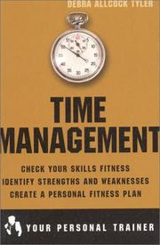 Cover of: Time Management (Your Personal Trainer) | Debra A. Tyler