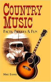 Cover of: Country Music Facts, Figures & Fun | Mike Evans