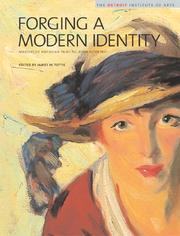 Cover of: Forging a Modern Identity: Masters of American Painting Born after 1847 | James Tottis
