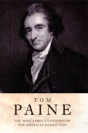 Cover of: Tom Paine (H Books) by Harry Harmer