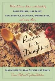 Cover of: Recipes for our daughters | Naomi Neft