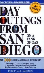 Cover of: Day Outings from San Diego on a Tank of Gas | Rebecca A. Sanders