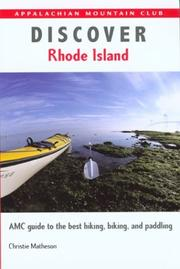 Cover of: Discover Rhode Island by Christie Matheson