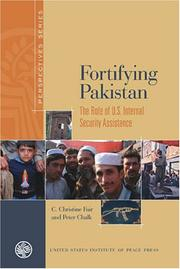 Cover of: Fortifying Pakistan | Peter Chalk