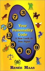 Cover of: Your Personality Code | Renee Maas
