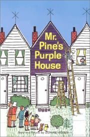 Cover of: Mr. Pine's purple house by Leonard P. Kessler