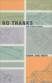Cover of: No thanks, and other stories | Sarah Jane Smith
