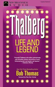 Cover of: Thalberg | Bob Thomas