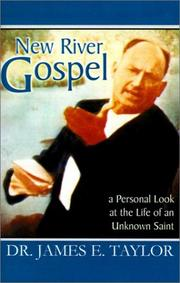 Cover of: New River Gospel | James E. Taylor