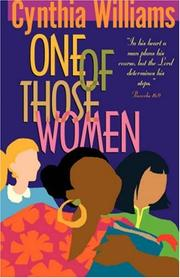 Cover of: One of Those Women | Cynthia A. Williams