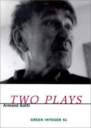 Cover of: Two Plays by Gatti, Armand.