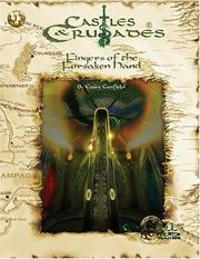 Cover of: Fingers of the Forsaken Hand - Castles & Crusades | Casey Canfield