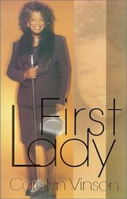 Cover of: First Lady | Carolyn Vinson
