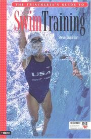 Cover of: The Triathlete's Guide to Swim Training (Ultrafit Multisport Training Series) | Steve Tarpinian
