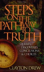 Cover of: Steps on the Pathway to Truth | Clayton Drew