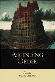 Cover of: Ascending order by William Greenway