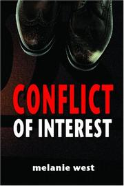 Cover of: Conflict of interest | Melanie West