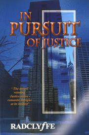 Cover of: In Pursuit of Justice | Radclyffe