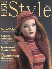 Cover of: High Style 2004 | Krystyna Poray Goddu