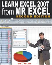 Cover of: Learn Excel 2007 from Mr. Excel by Bill Jelen