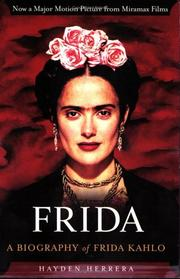 Cover of: Frida by Hayden Herrera