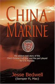 Cover of: China Marine | Jesse Bedwell