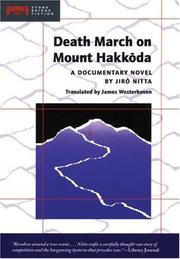 Cover of: Death March on Mount Hakkoda | Jiro Nitta