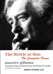 Cover of: The Bottle at Sea by Maurice Gilliams