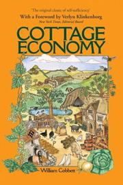 Cover of: Cottage Economy (Verey & Von Kanitz Rural Classics) | William Cobbett
