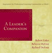 Cover of: A Leader's Companion | Robert Eaker; Rebecca DuFour; and Richard DuFour
