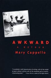 Cover of: Awkward | Mary Cappello