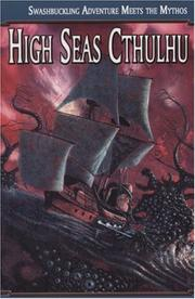 Cover of: High Seas Cthulhu | William Jones