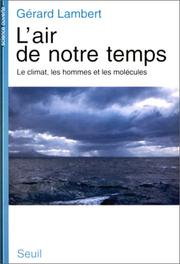 Cover of: L' air de notre temps | Gérard Lambert