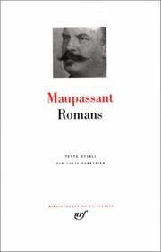 Cover of: Novels | Guy de Maupassant