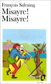 Cover of: Misayre Misayre by Francois Salvang