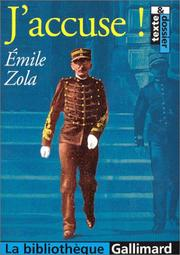 Cover of: J'accuse by Émile Zola