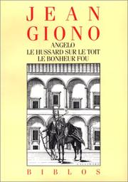 Cover of: Angelo | Jean Giono