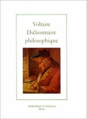 Cover of: Dictionnaire philosophique, portatif by Voltaire
