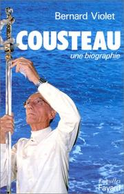 Cover of: Cousteau by Bernard Violet