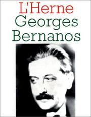 Cover of: Georges Bernanos | Dominique de Roux
