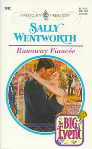 Cover of: Runaway Fiancee (The Big Event) | Sally Wentworth