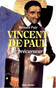 Cover of: Vincent de Paul | Bernard Pujo